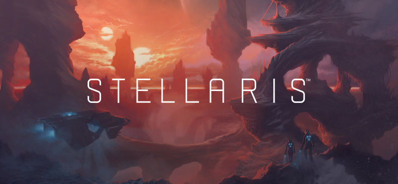 Caption: Andreas Waldetoft scored the complex 2016 far-future strategy game Stellaris, working with orchestrator David Christiansen and the Brandenburg State Orchestra.