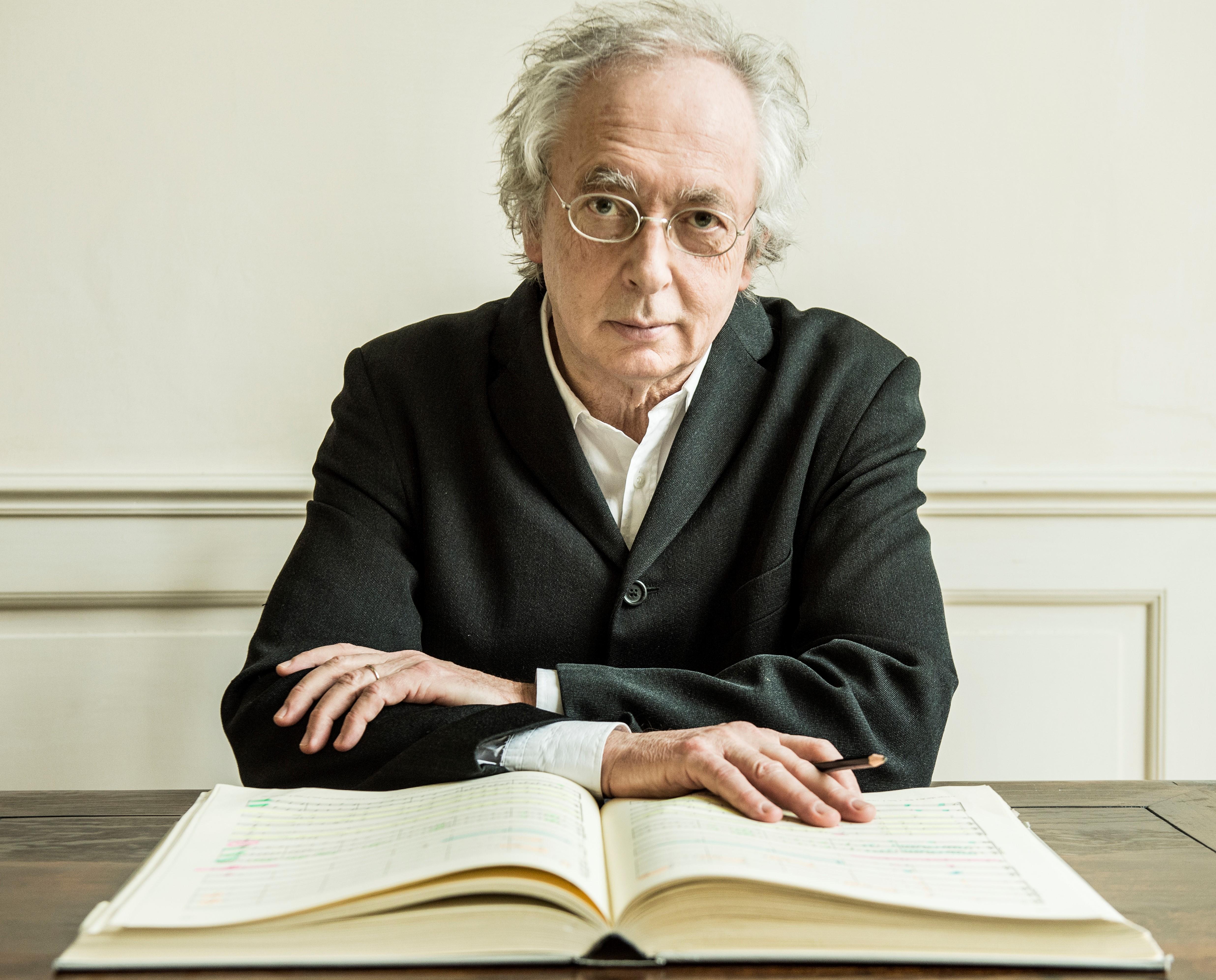 Caption: Conductor Philippe Herreweghe