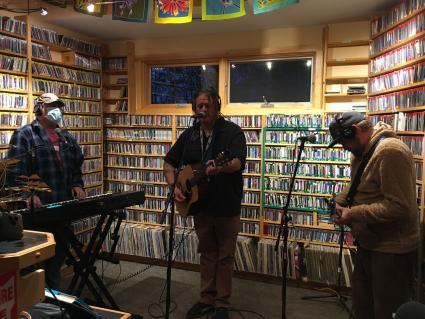 Caption: Jason Fladager Trio. Photo by Brian Neil.