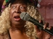 Caption: Louisiana blues diva Carol Fran performs at her 76th birthday party., Credit: Photo by Barry Yeoman