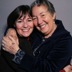 "Joan DeLevie (R) tells her daughter, Sharon (L), how she met her husband, Ari at a party in 1959. <a href=""http://www.prx.org/pieces/49479-storycorps-joan-and-sharon-delevie"">Listen Here</a>. Credit:"