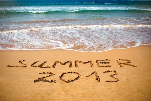 """Credit: <a href=""""http://www.shutterstock.com/pic-124818616/stock-photo-inscription-on-wet-sand-summer-concept-photo-of-summer-vacation.html"""">Shutterstock</a>"""