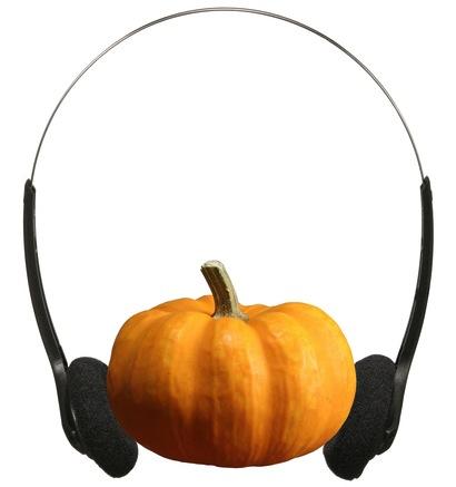 "Credit: <a href=""http://www.shutterstock.com/pic-115225351/stock-photo-pumpkin-and-headphone.html"">Shutterstock</a>"