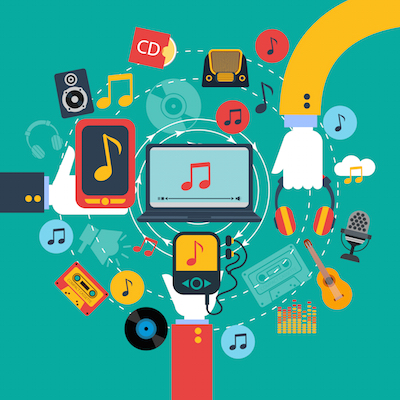 "Credit: <a href=""http://www.shutterstock.com/pic-270762062/stock-vector-old-fashioned-retro-music-apps-poster-with-hands-holding-tablets-and-mobile-phone-abstract-vector.html?src=pd-same_artist-268930973-YhfJJlfEpSIEqZjCtaXLUQ-2"">Shutterstock</a>."