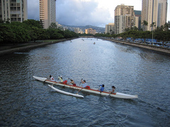 "Hawaiian Canoe in Honolulu, HI Credit: <a href=""http://www.flickr.com/photos/beautifulcataya/"">Beautiful Cataya</a>"