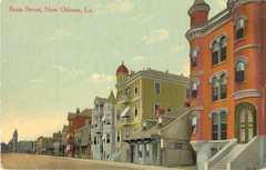 Caption: Basin Street, New Orleans