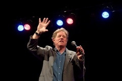 Caption: Jimmy Tingle in action, Credit: Ellen Low, Photographer