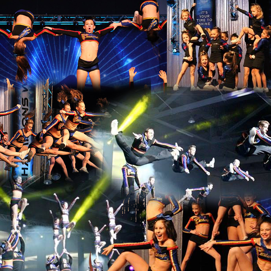 prx series the levels of all star cheerleading