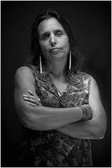 Caption: Aabitoose host Winona LaDuke
