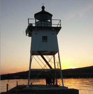 Caption: Grand Marais Lighthouse, Credit: Will Moore