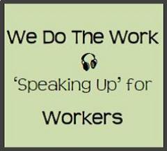 Caption: We Do The Work