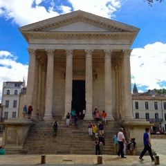 Caption: Maison Carree, Nîmes. , Credit: Lydia Roelandts, Antwerp, Belgium
