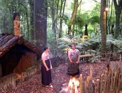 Caption: Maori Tamaki Village, Credit: Richard Jensen