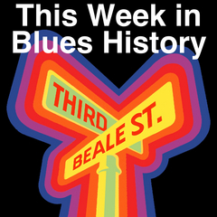 Caption: Our distinctive logo comes from a rare poster for the 1977 Beale Street Music Festival.