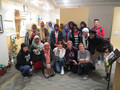 Caption: Group photo from RadioActive's pop-up workshop with the Coalition for Refugees from Burma