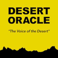 Caption: DESERT ORACLE RADIO