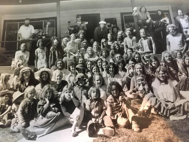 Caption: Greenfield Ranch, Easter 1977, Credit: Jana Rose Chase