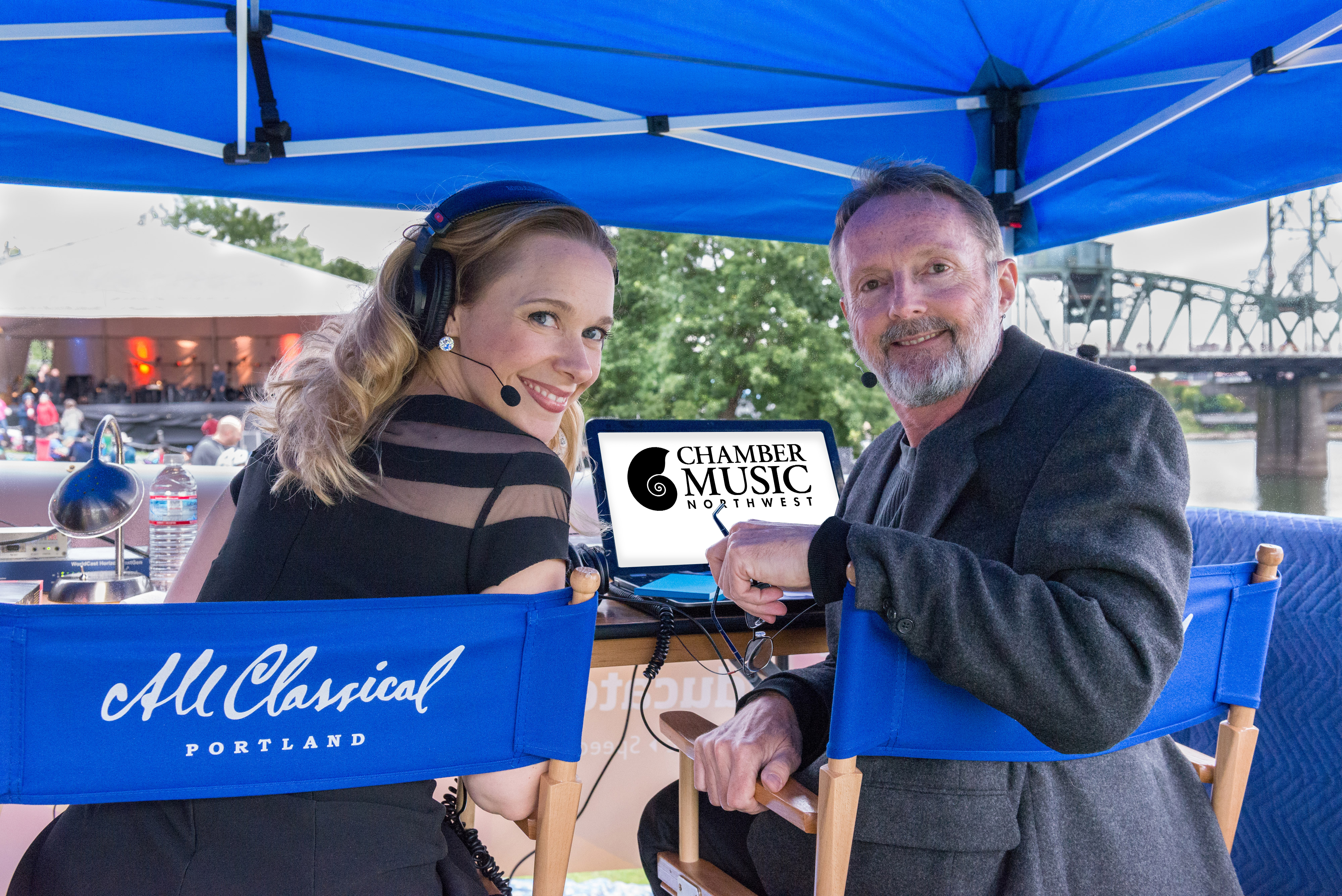 Caption: Join Suzanne Nance (left) and Robert McBride (right) for the 48th Annual Chamber Music Northwest Summer Festival