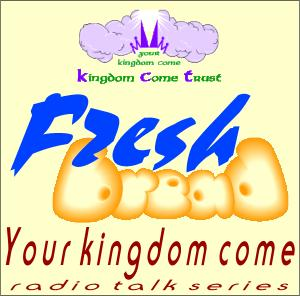 Caption: Fresh Bread: Your Kingdom Come – logo, Credit: Precious Oil Productions Ltd