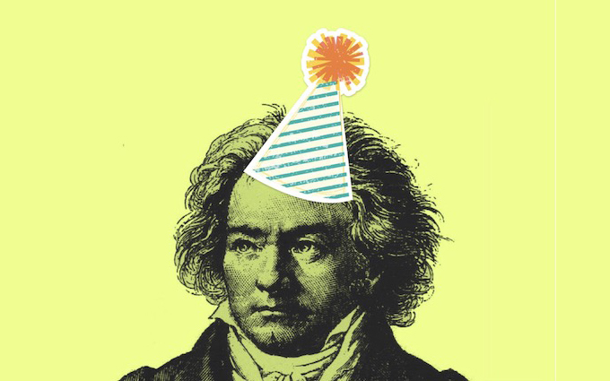 Caption: Ludwig van Beethoven, b. 1770