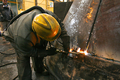 Caption: Metal worker, Peru, Credit: Santiago Bustamante Mujica