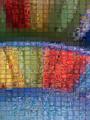 Caption: Colored Plate - Fractal Mosaic, Credit: qthomasbower