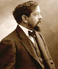 Caption: Claude Debussy