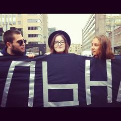 "Caption: ""Existential Russia"" protesters in Moscow, Sept. 15th 2012., Credit: Sarah Stuteville"