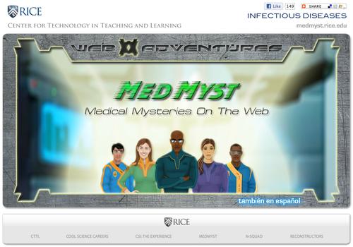 MedMyst | The Science Game Center