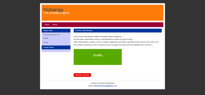 Mobianga!-screenshot