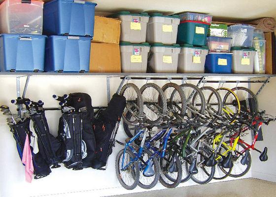 garage organization ideas for bikes - Garage Harmony in Jefferson City MO Service Noodle