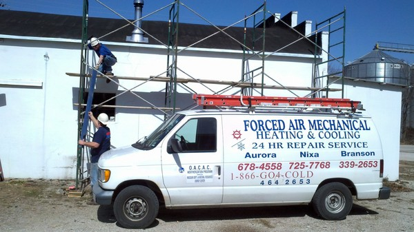 Forced Air Mechanical Services In Aurora Mo Service Noodle