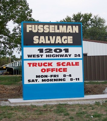 Fusselman Salvage Co In Moberly Mo Service Noodle
