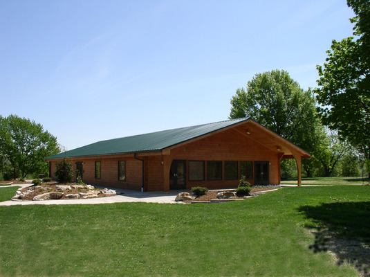 Riechmann Indoor Pavilion At Stephens Lake Park In