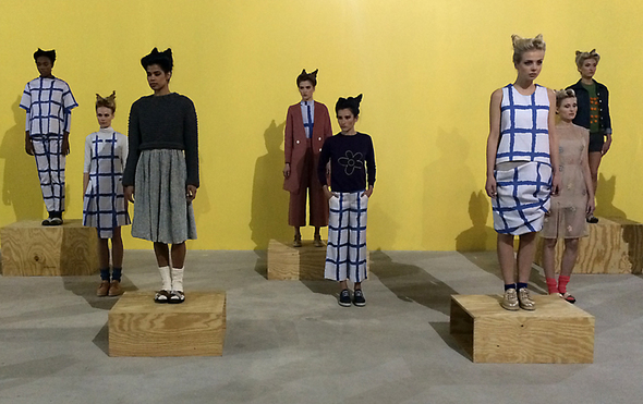 William Okpo Presentation FW 14 - The Closet Freaks