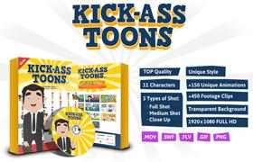 Kick-Ass Toons