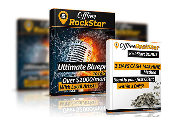Offline Rockstar – The Ultimate Local Clients Blueprint