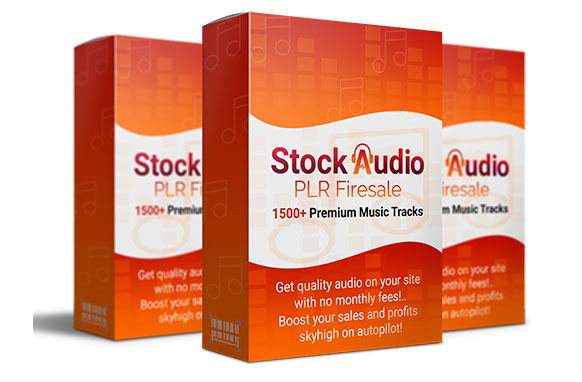 Stock Audio PLR Firesale