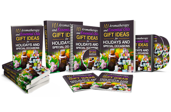 101 Essential Oils and Aromatherapy Gift Ideas