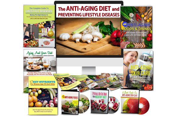 Anti-Aging Diet and Preventing Lifestyle Diseases