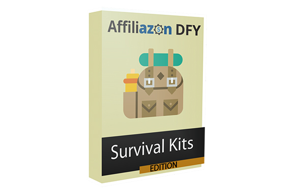 Affiliazon DFY Survival Kits – Amazon Niche Pack