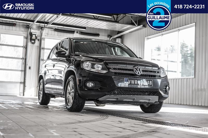 Volkswagen Tiguan 2013 4Motion Chez Rimouski Hyundai