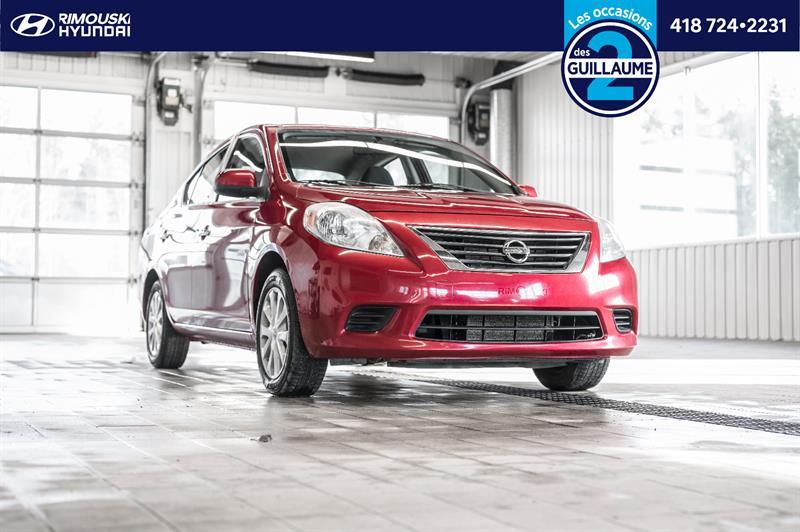 Nissan Versa 2012 I4 1.6 Chez Rimouski Hyundai