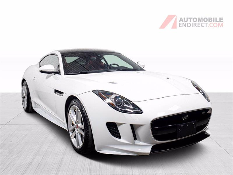 Jaguar F-TYPE 2016 S AWD Cuir Rouge Toit Pano GPS