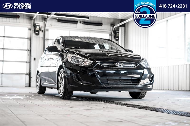 Hyundai Accent 2016 GL chez Rimouski Hyundai