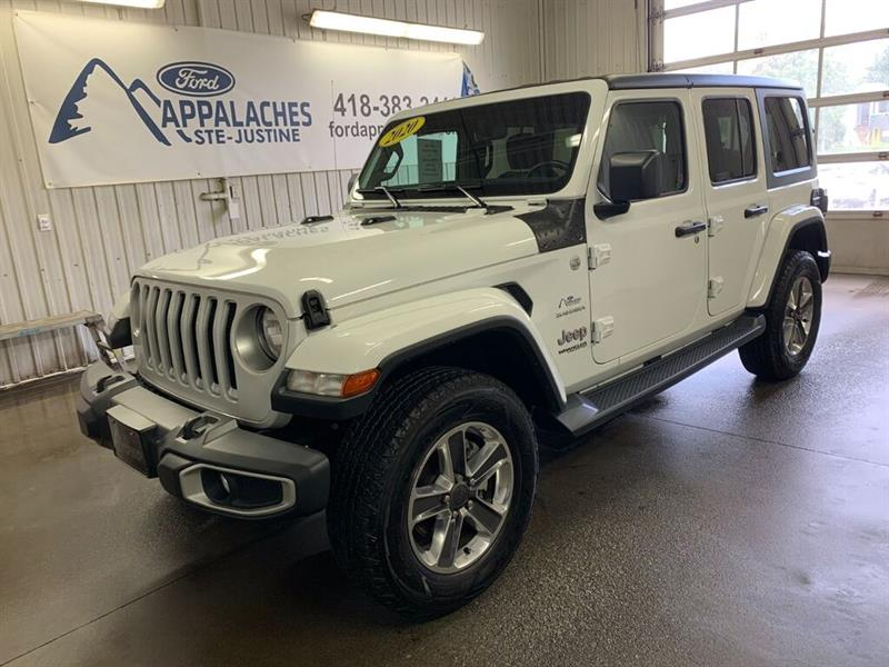 Jeep Wrangler 2020 Unlimited Sahara V6 4x4