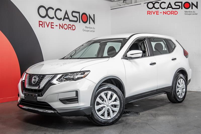 Nissan Rogue 2018 S AWD SIEGES.CHAUFFANTS+CAM.RE
