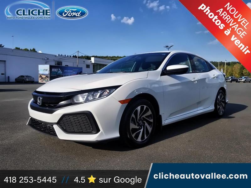 2018 Honda  Civic LX, HATCHBACK, CAMERA, MAG