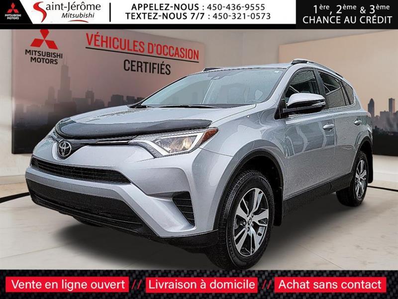 Toyota RAV4 2018 LE AWD MAGS + CAMERA + SIÈGES