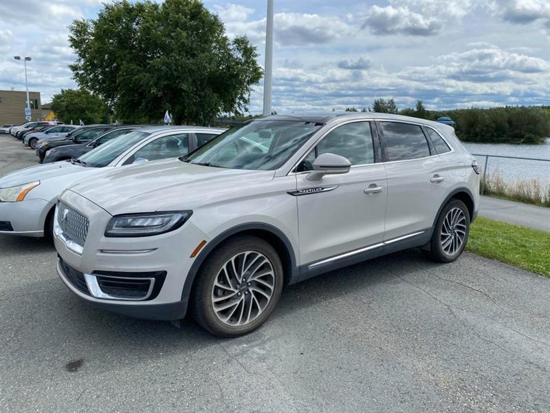 2019 Lincoln  Nautilus RESERVE AWD CUIR TOIT GPS MAGS